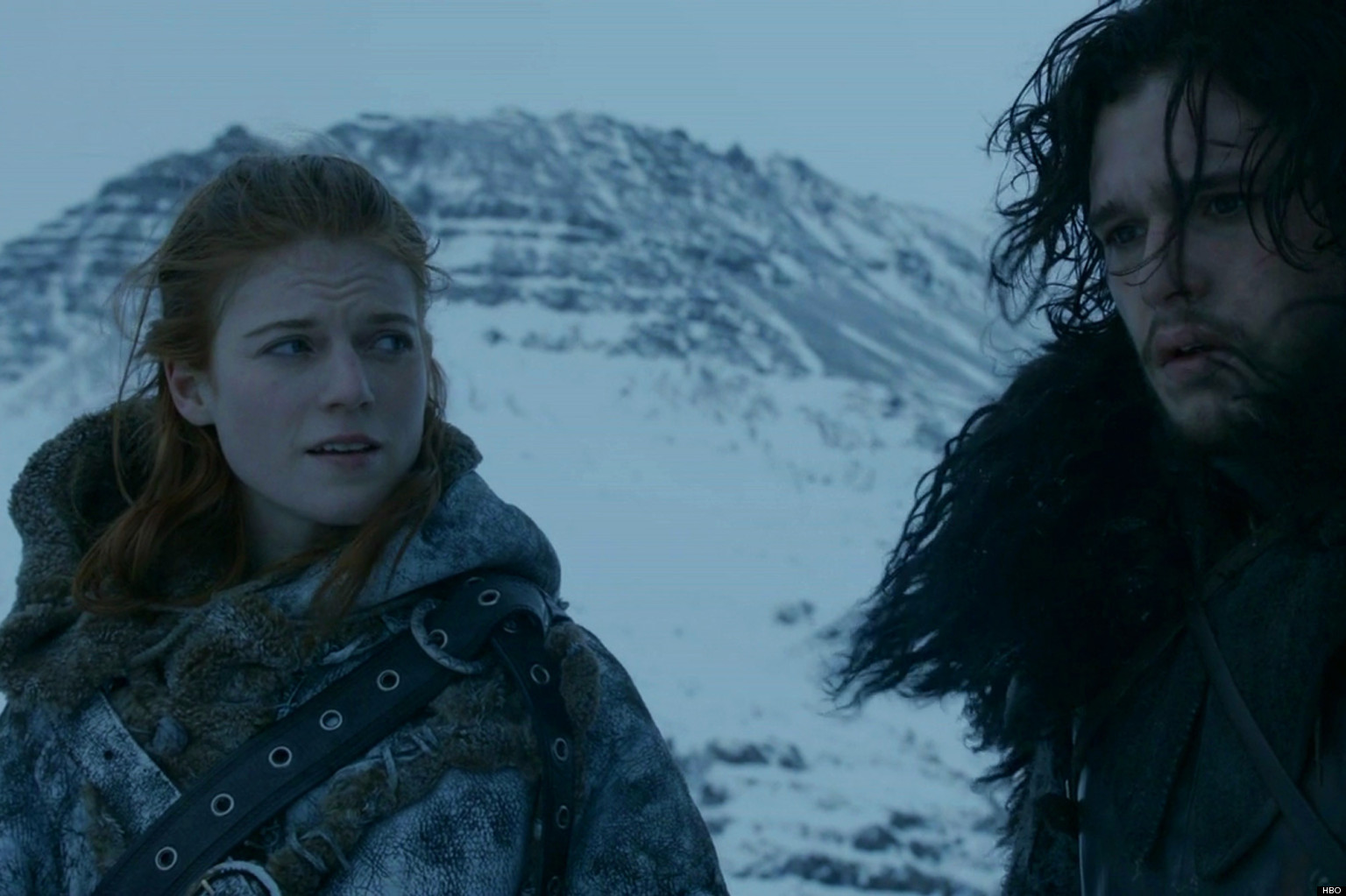 Jon Snow en Ygritte