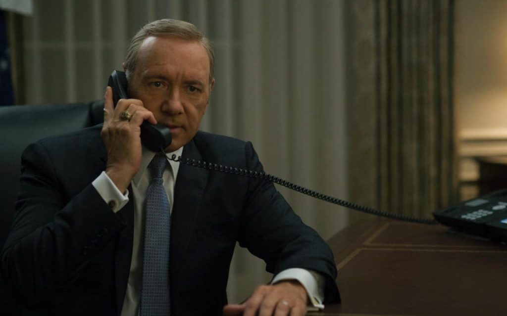 Spacey is definitief uit House of Cards