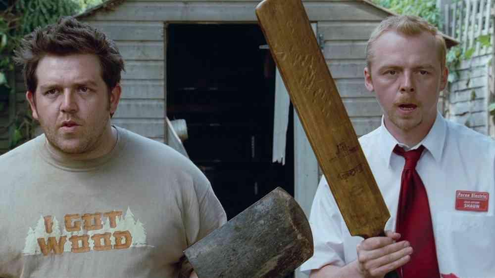 Simon Pegg en Nick Frost
