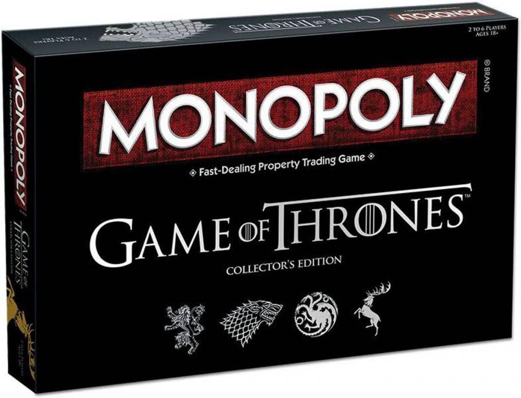 Game of Thrones Monopoly bordspel