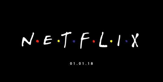 Friends op Netflix
