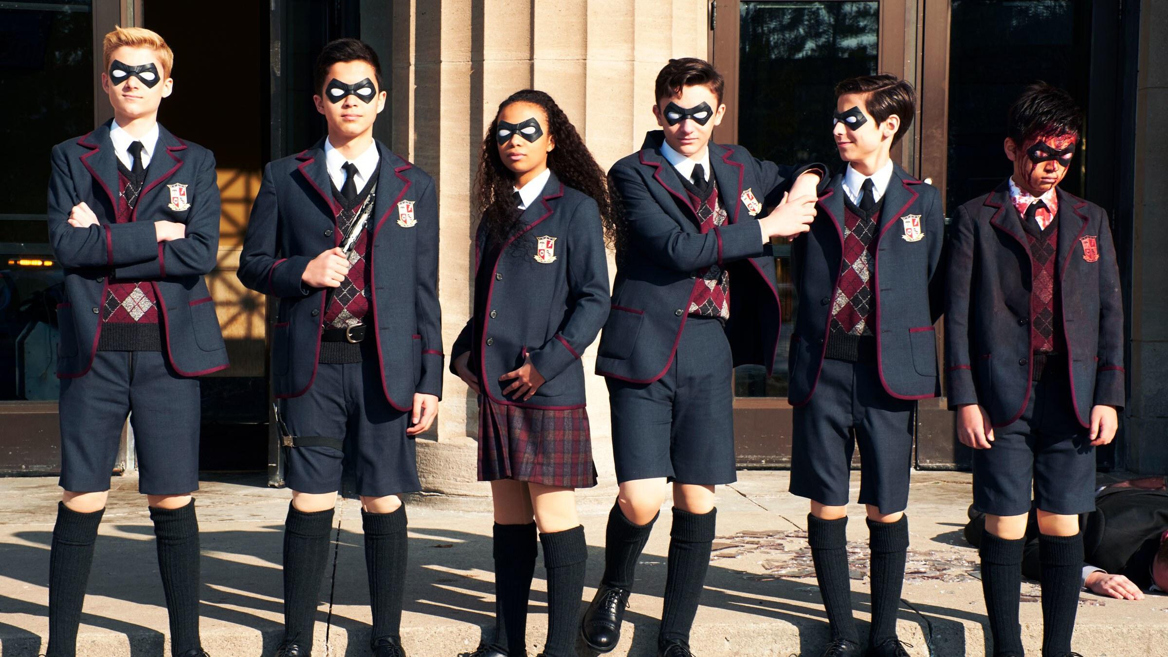 serie The Umbrella Academy